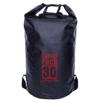 a83a591790 Karana Ocean Pack Waterproof Dry Tube Bag 30 Litres Black