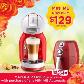 Free Mayer Air Fryer Nescafé Dolce Gusto Mini Me Coffee Machinered