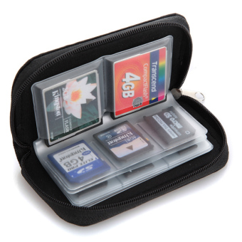 Lazada Fashion & Accessories Deal: 52% off Micro SD Memory Card Storage Carrying Pouch Case Holder Wallet - from OEM