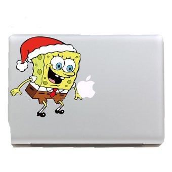 Skinat Spongebob B MacBook Sticker Vinyl Decal For Apple - Spongebob macbook decal