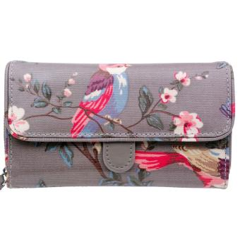 Lazada Fashion & Accessories Deal: 63% off Cath Kidston WALLET GREY COLOR FOLDED TRIMMED WALLET from Cath Kidston