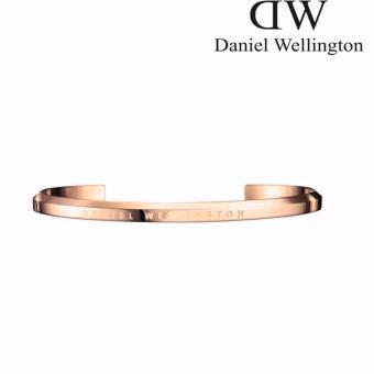 Lazada Fashion & Accessories Deal: 34% off Daniel Wellington Unisex Classic Cuff Bracelets Small - Silver, Rose Gold(Rose Gold) from Daniel Wellington