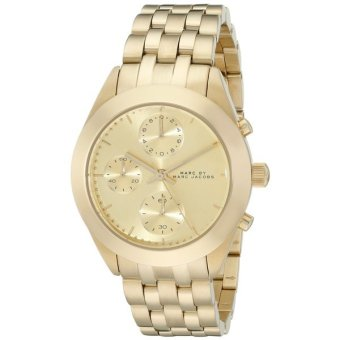 Lazada Fashion & Accessories Deal: 5% off Marc by Marc Jacobs Women's MBM3393 Peeker Gold-Tone Chronograph Watch from Marc By Marc Jacobs
