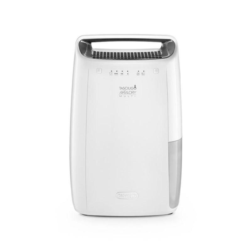Delonghi DEX14 Dehumidifier 219 watts 2.3 Litre tank capacity Recommended Room Size 65 m³ Noise Level 37 dBA Moisture removal in normal mode 14 L/24 hours Singapore