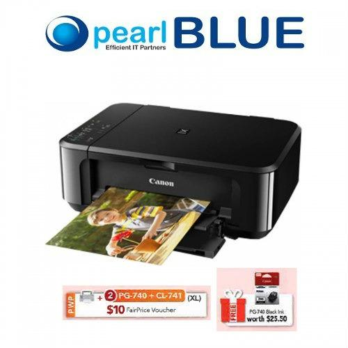Canon PIXMA MG3670 Printer - Black Wireless ALL-IN-ONE With Duplex and  Cloud Printing Singapore