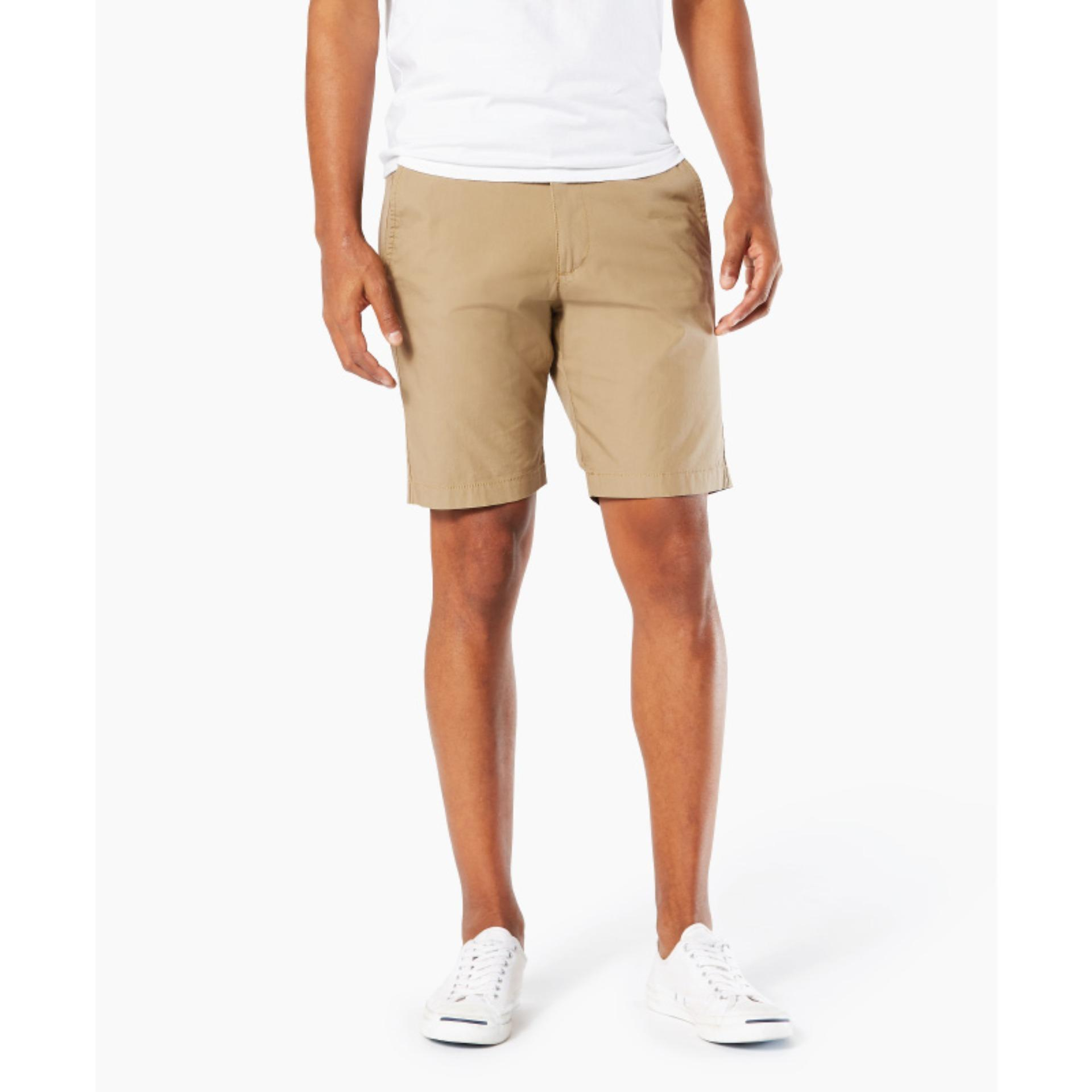 Dockers Slim-Straight Shorts New British Khaki