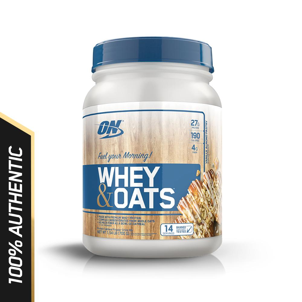Optimum Nutrition Whey & Oats 1.5 lbs - Vanilla Almond Pastry