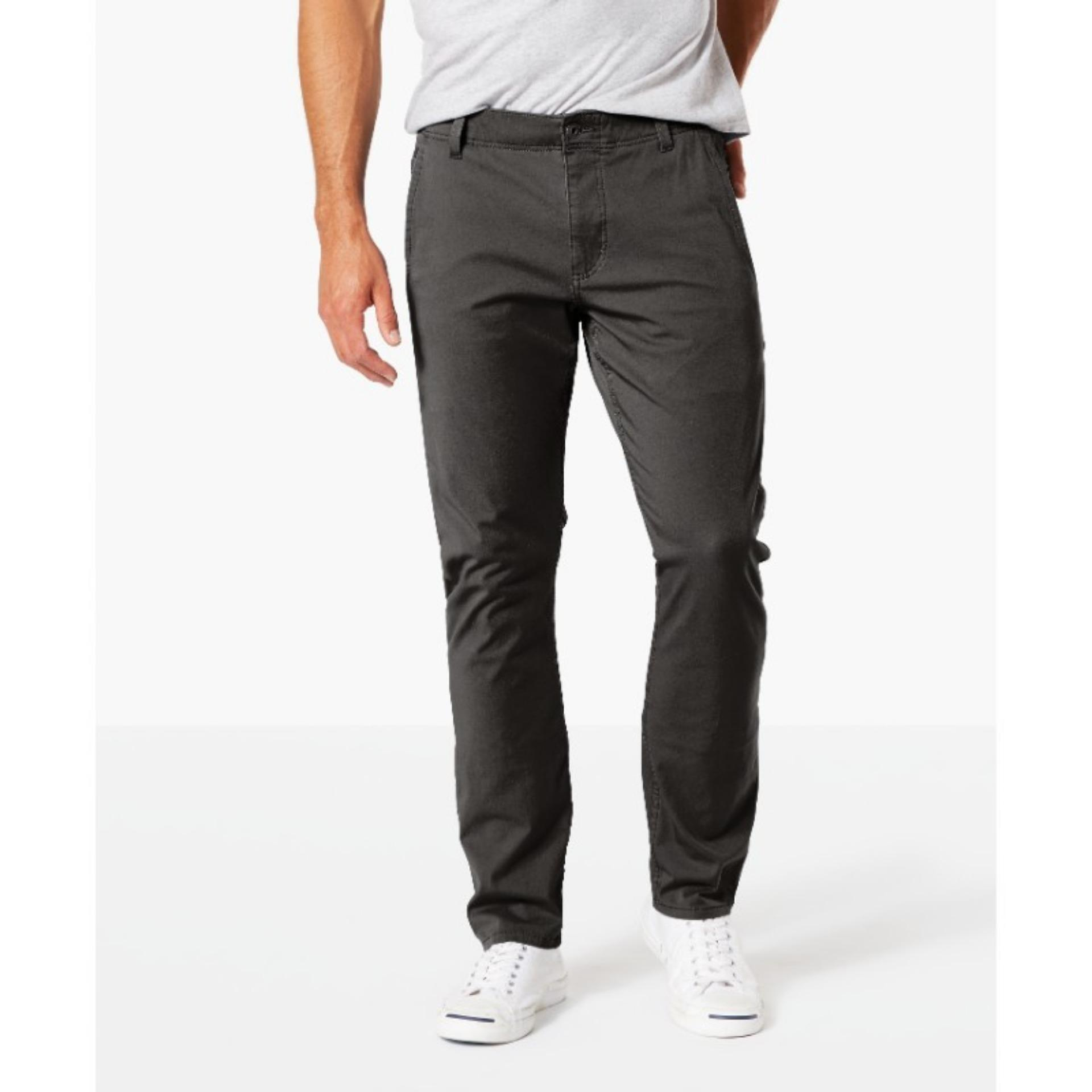 Dockers Alpha Khaki 360 Skinny Pants Steelhead
