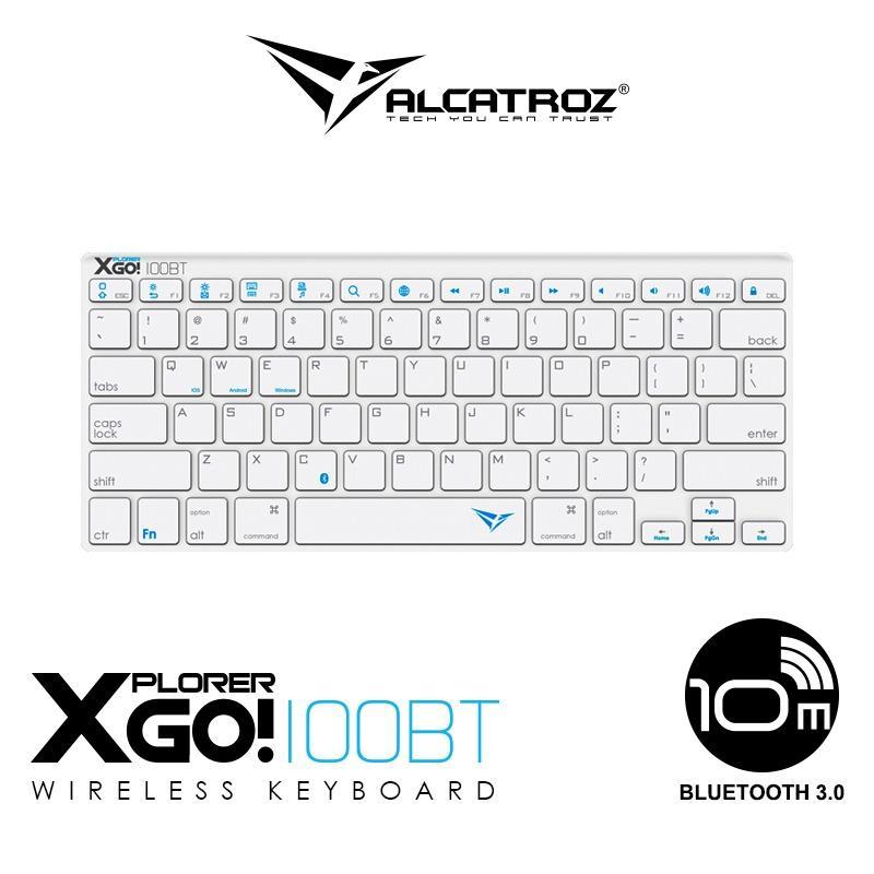 Alcatroz Bluetooth 3.0 Wireless keyboard Xplorer Go! BT100 Singapore