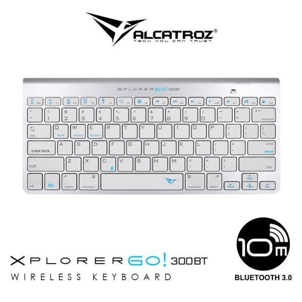 Alcatroz Bluetooth 3.0 Wireless keyboard Xplorer Go! BT300 Singapore