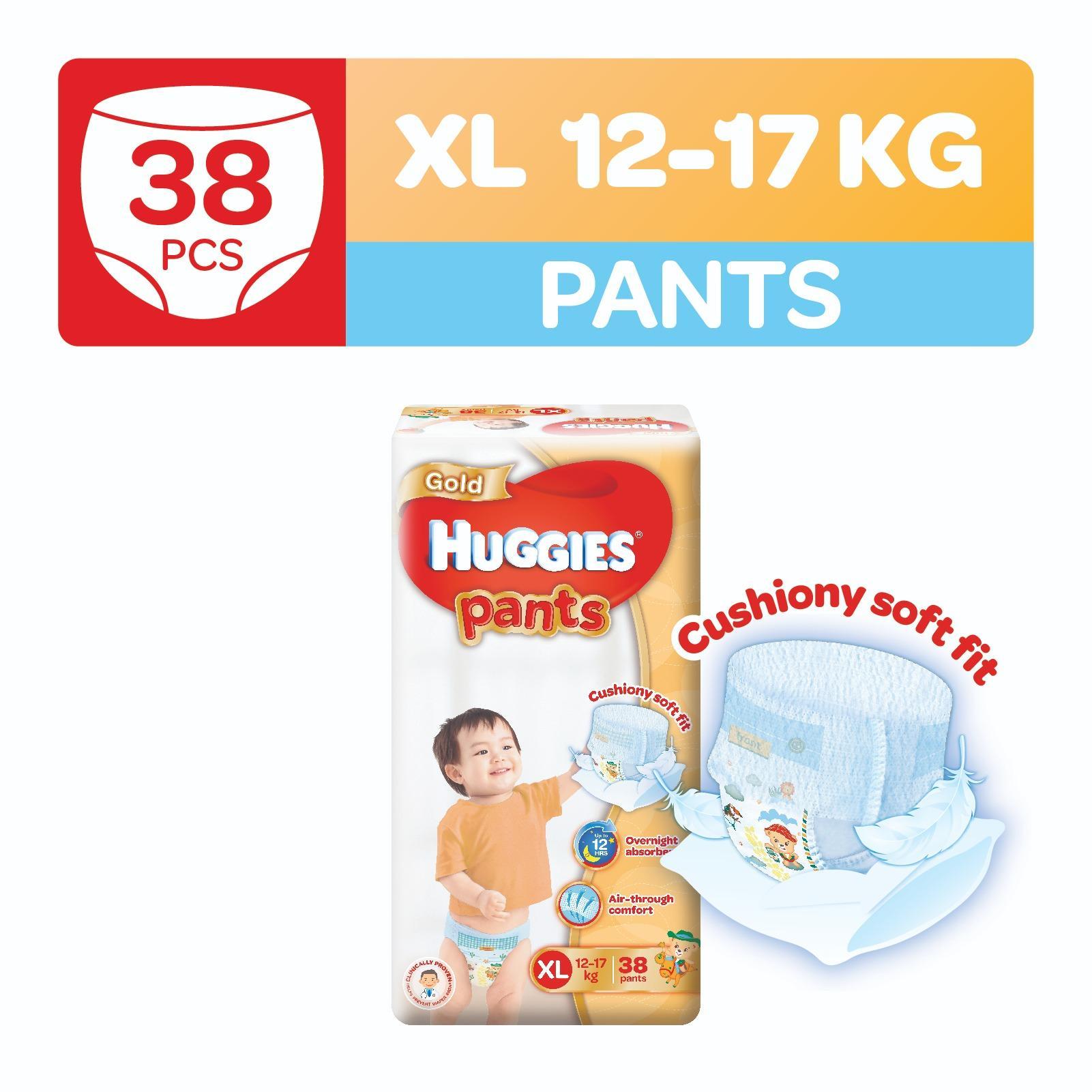 Huggies Gold Pullup Pants XL 38pcs