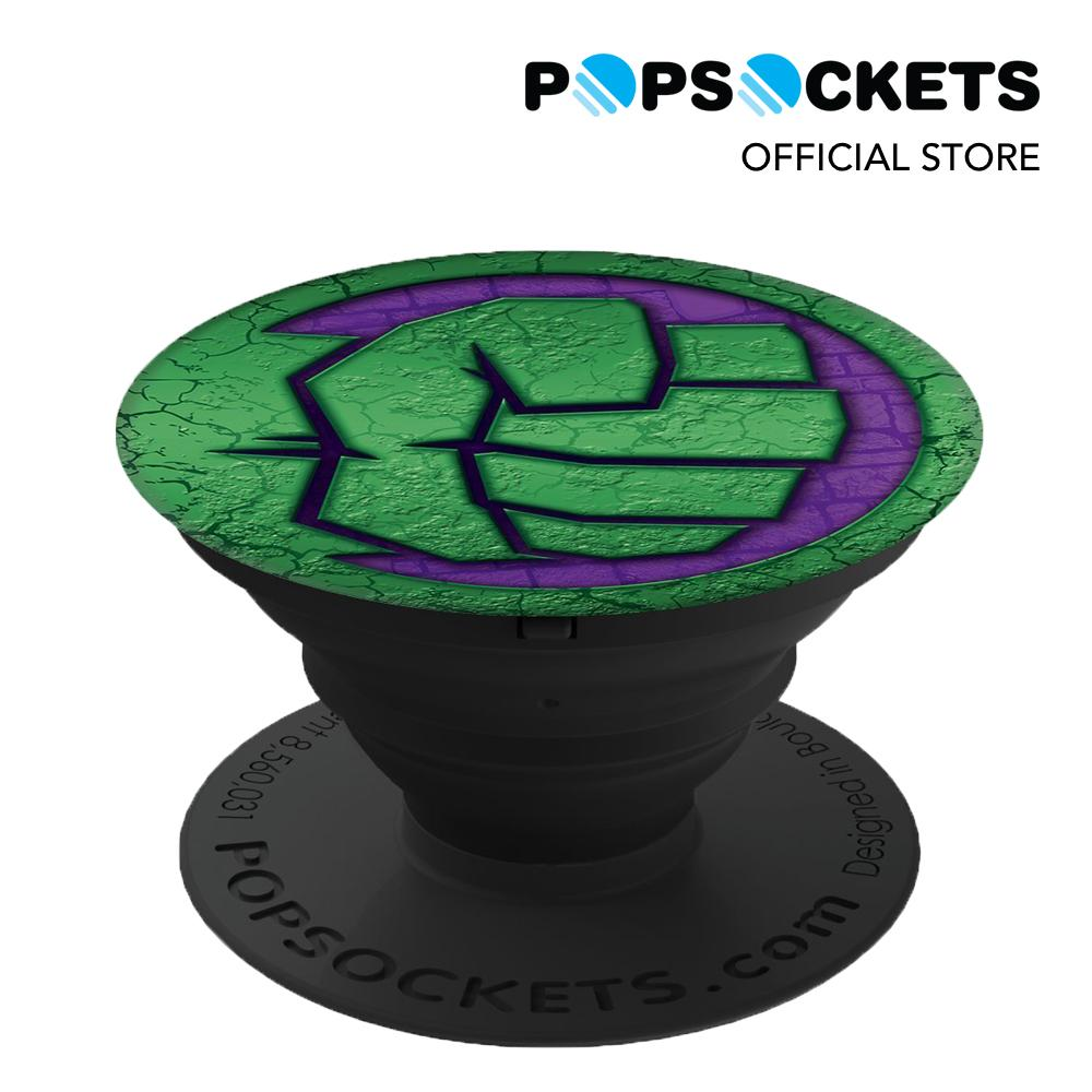 PopSockets Grip for Phones and Tablets - Marvel Series The Hulk Icon.