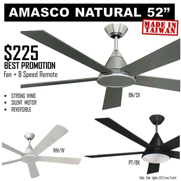 Amasco Natural 52 8 Sd Remote Control Singapore