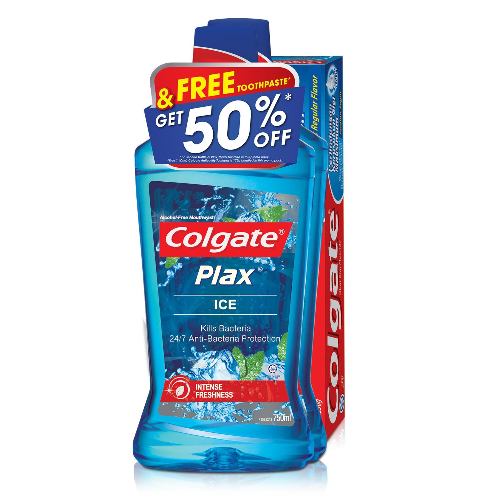 Promotions Catalogs Colgate Slim Soft Advanced Zig Zag Charcoal 1pc Plax Ice Mouthwash 750ml Twinpack Free 175g Toothpaste