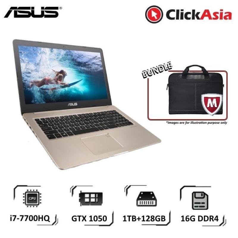 Asus VivoBook Pro 15 (N580VD-DM467T) - 15.6/i7-7700HQ/16GB DDR4/128GB SSD+1TB HDD/Nvidia GTX1050/W10