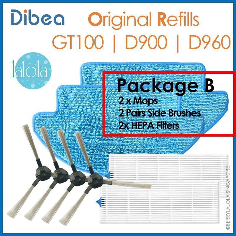 Dibea D960 Package B Accesories Singapore