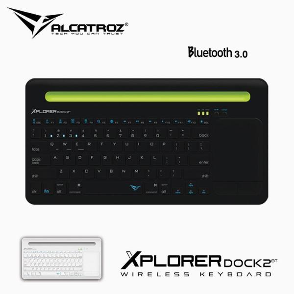 Alcatroz Xplorer Dock 2 Wireless Keyboard with mousepad Singapore