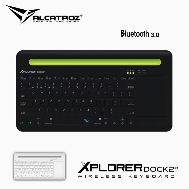 Alcatroz Xplorer Dock 2 Wireless Keyboard with mousepad Singapore