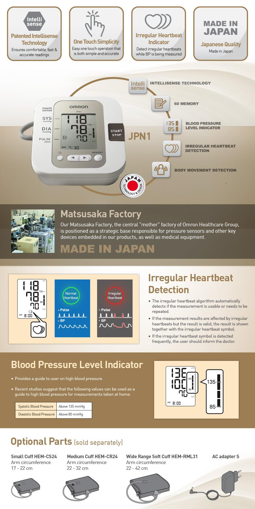 Every Need Want Day Omron Hem 7211 Automatic Blood Pressure Monitor Sis Jpn1