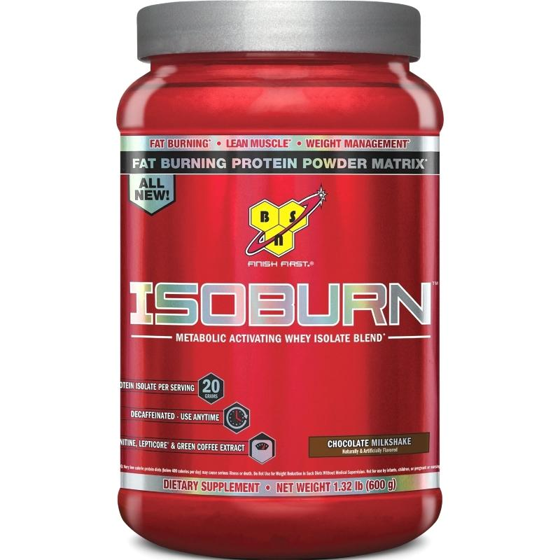 BSN Isoburn Fat Burning Protein Powder 1.32 lbs Chocolate