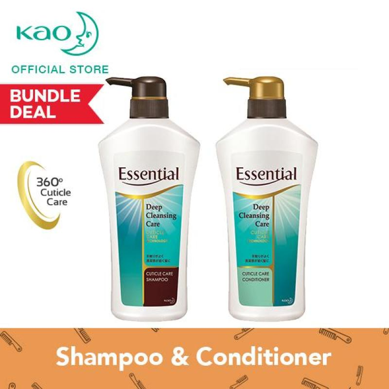 Buy Essential Moisturizing Frizz Free Shampoo & Conditioner 700ml Singapore