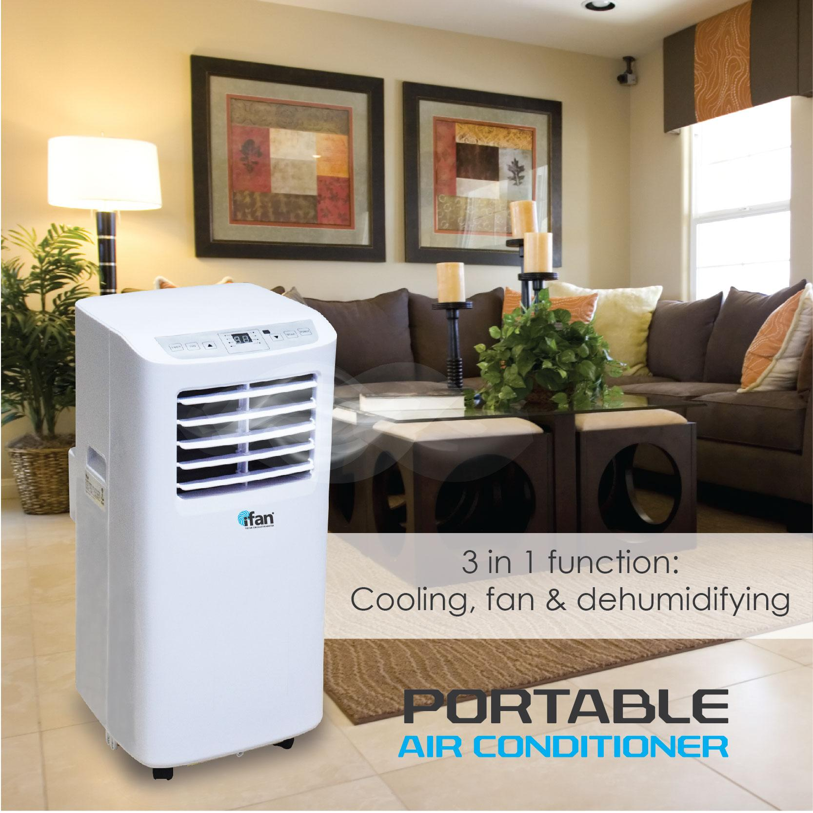 Ifan Powerpac Portable Air Conditioner With Vertex