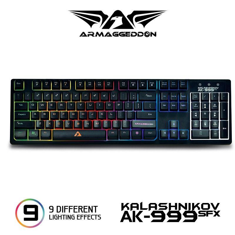 Armaggeddon AK-999 SFX The ultimate gaming keyboard Singapore