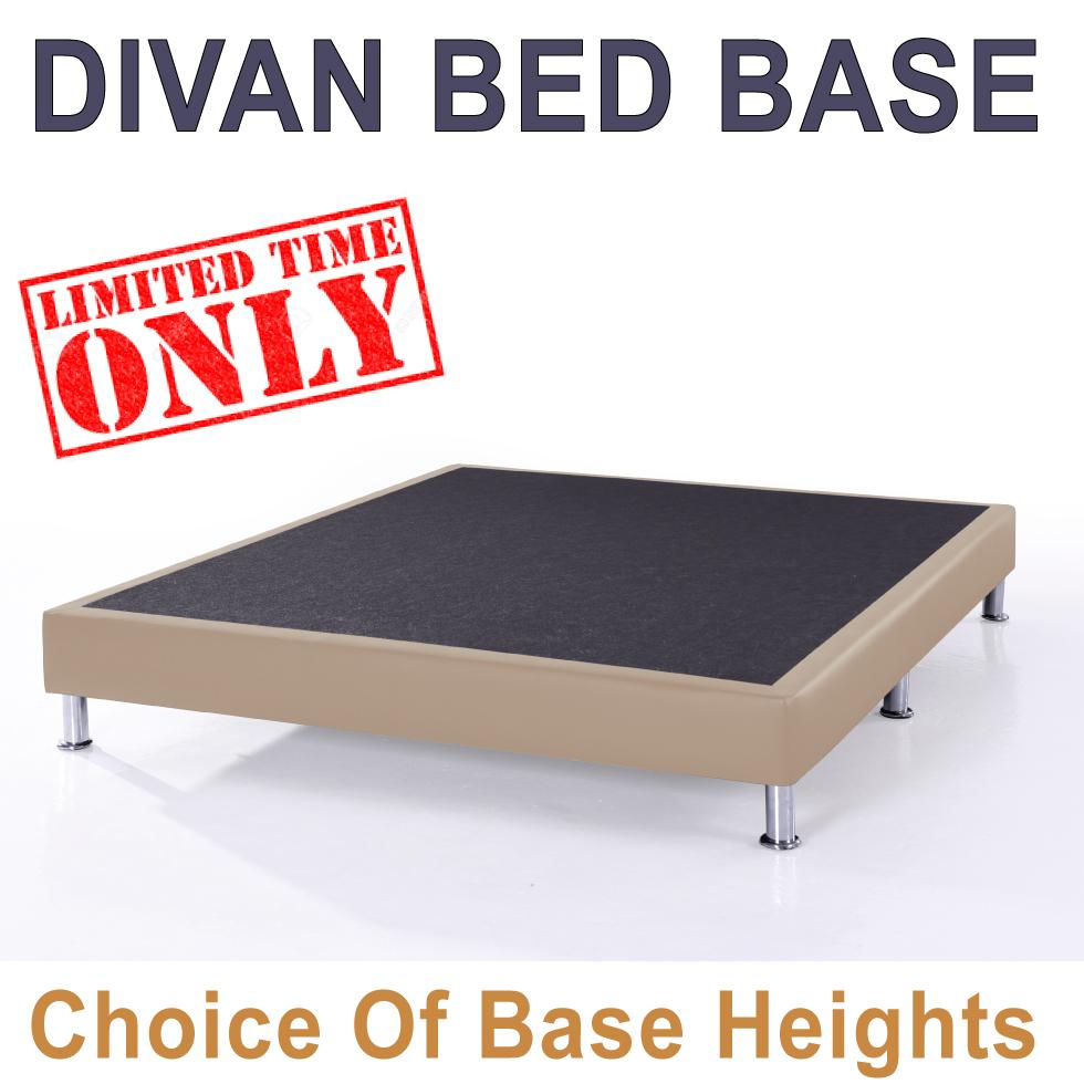 Divan bed base queen size buy sell online beds with for Divan bed height