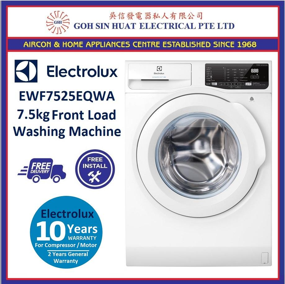 *New Model* Electrolux EWF7525EQWA 7.5KG Front Load Washing Machine