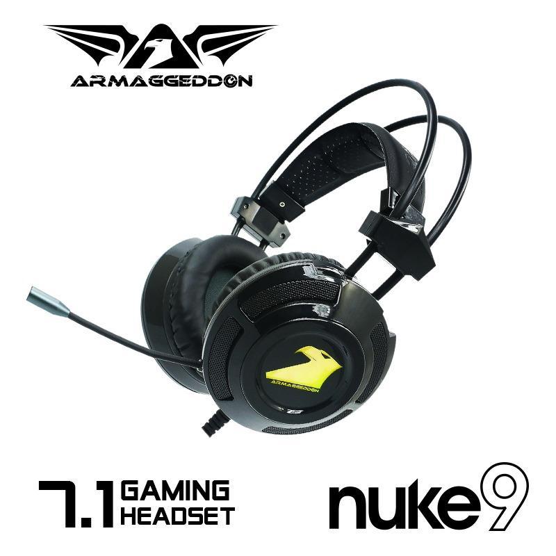 Armaggeddon AK-999 keyboard + Nuke 9 7.1 headset Gaming Bundle Singapore