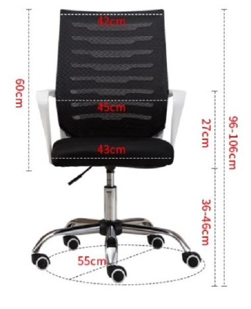 Specifications Of 2018 Modern Ergonomic Mesh Office Chair Best For Home Study