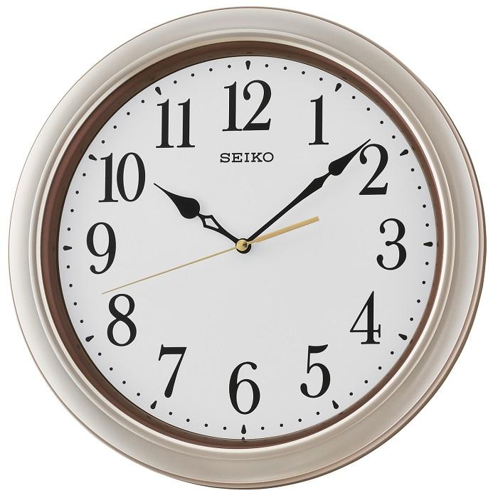 Best Buy Seiko Qxa542j Wall Clock With Thermometer Black Prices