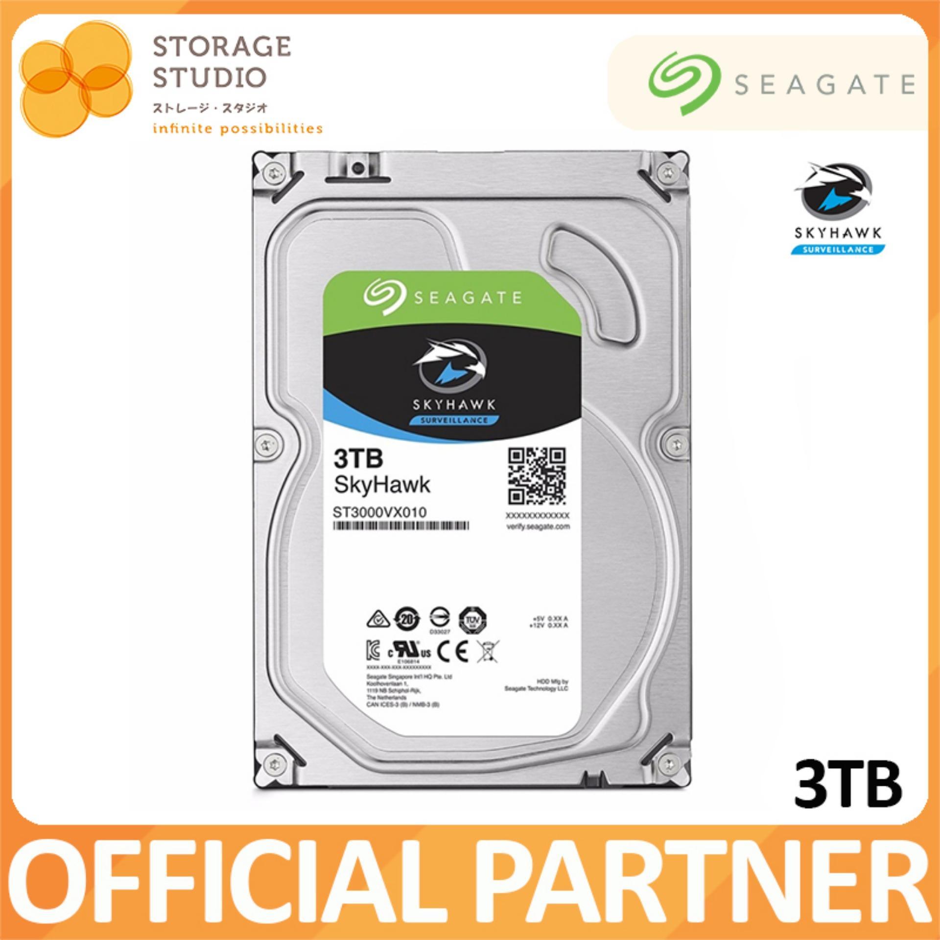 Seagate 3tb Skyhawk Surveillance Hard Disk Singapore Hardisk Skyhawlk 1tb