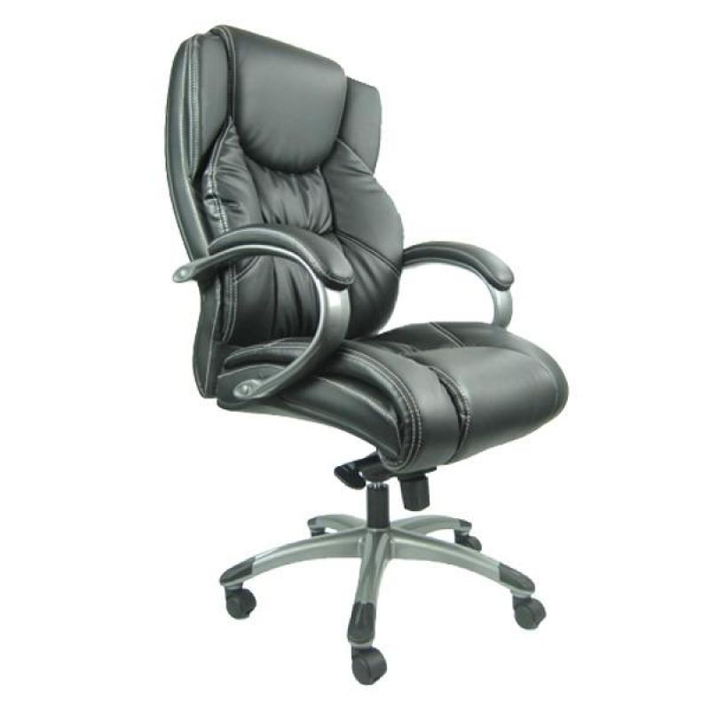 The Lord 688B Office Chair (Black/PU Leather)(Installation Option Available) Singapore