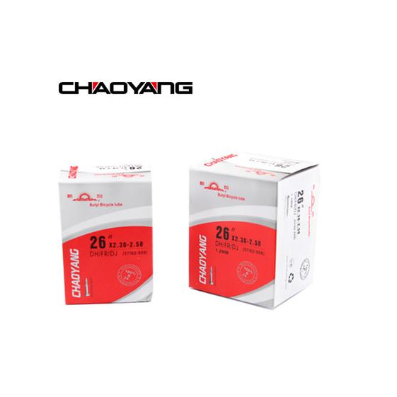 CHAOYANG 26x2.3/2.5 MTB bike inner tube with high quality (Suitable for DH/FR/DJ)