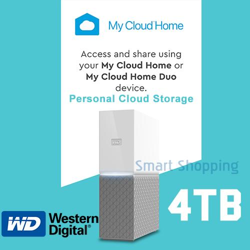 WD MyCloud Home 4TB Western Digital My Cloud 4 TB HDD Storage space