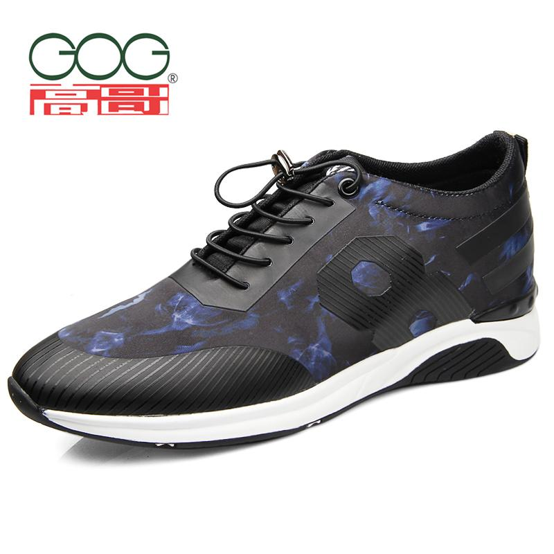 Gog 6 cm 8cm outdoor summer running in the elevator shoes casual shoes