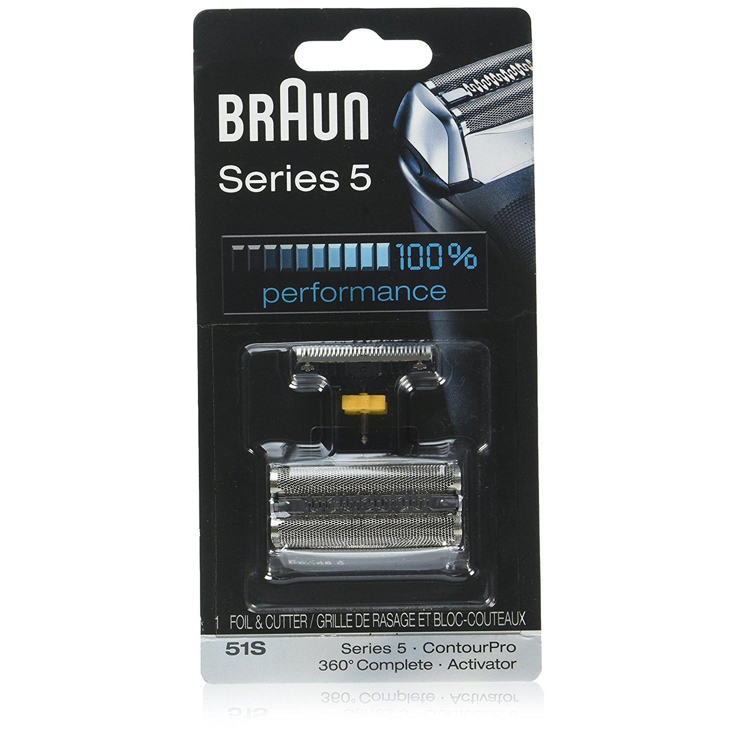 Braun Series 5 51S Foil & Cutter Replacement Head