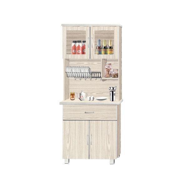 [Megafurniture]Verona Tall Kitchen Cabinet
