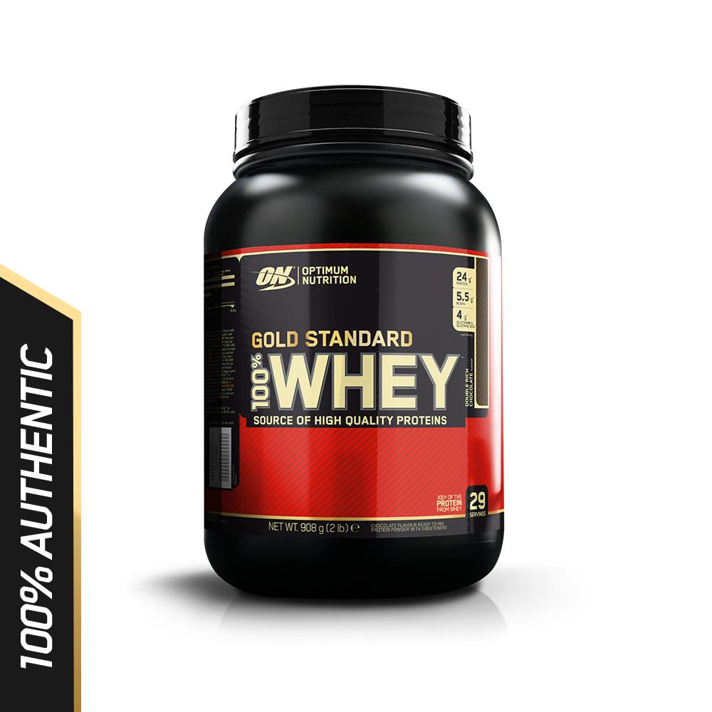 Optimum Nutrition Gold Standard Whey 2 lbs - Double Rich Chocolate