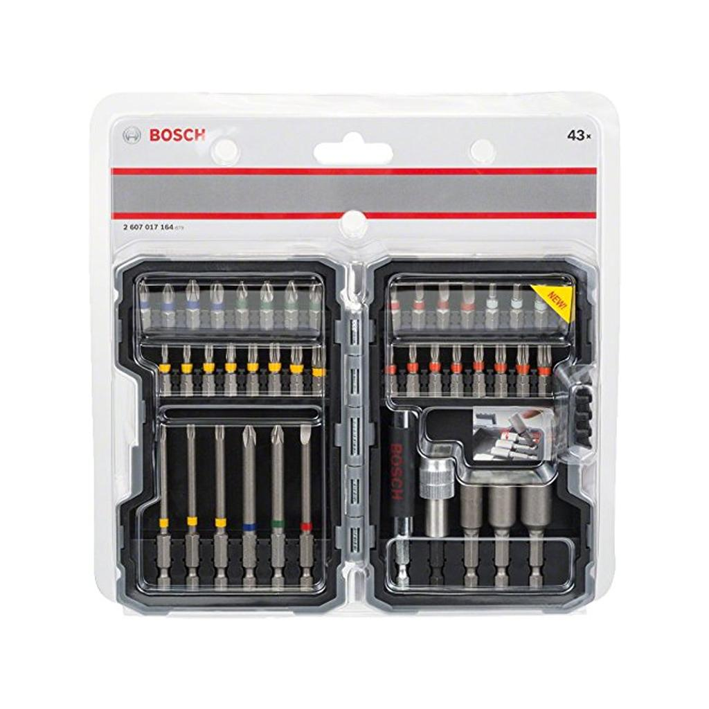 Bosch 2 607 017 164 43 Pieces Combination Bit Set