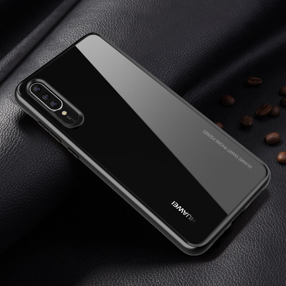 Windcase Hybrid PC Clear Back + TPU bumper Case Cover for Huawei P20 Pro (As