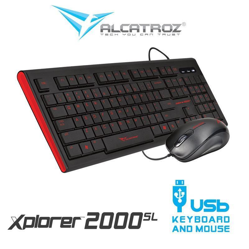 Alcatroz Xplorer 2000SL USB Keyboard and Mouse combo Singapore