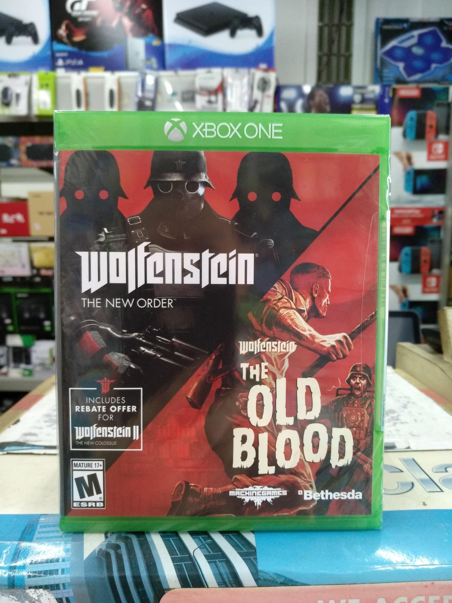 Xbox One Wolfenstein : The Two-Pack