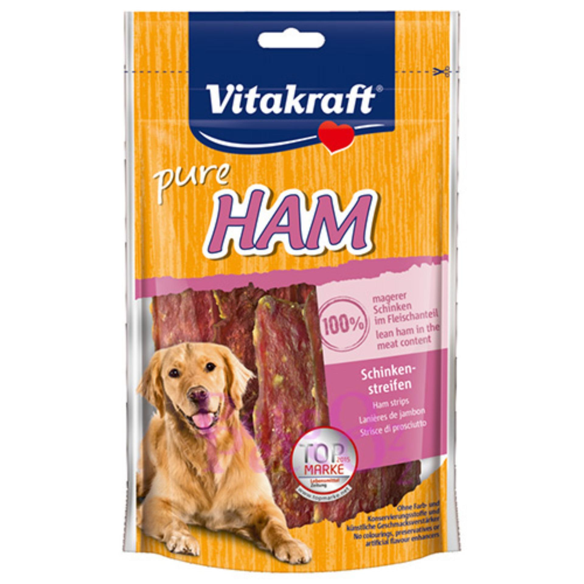Vitakraft Ham Strips 80g (Buy 1 Free 1)