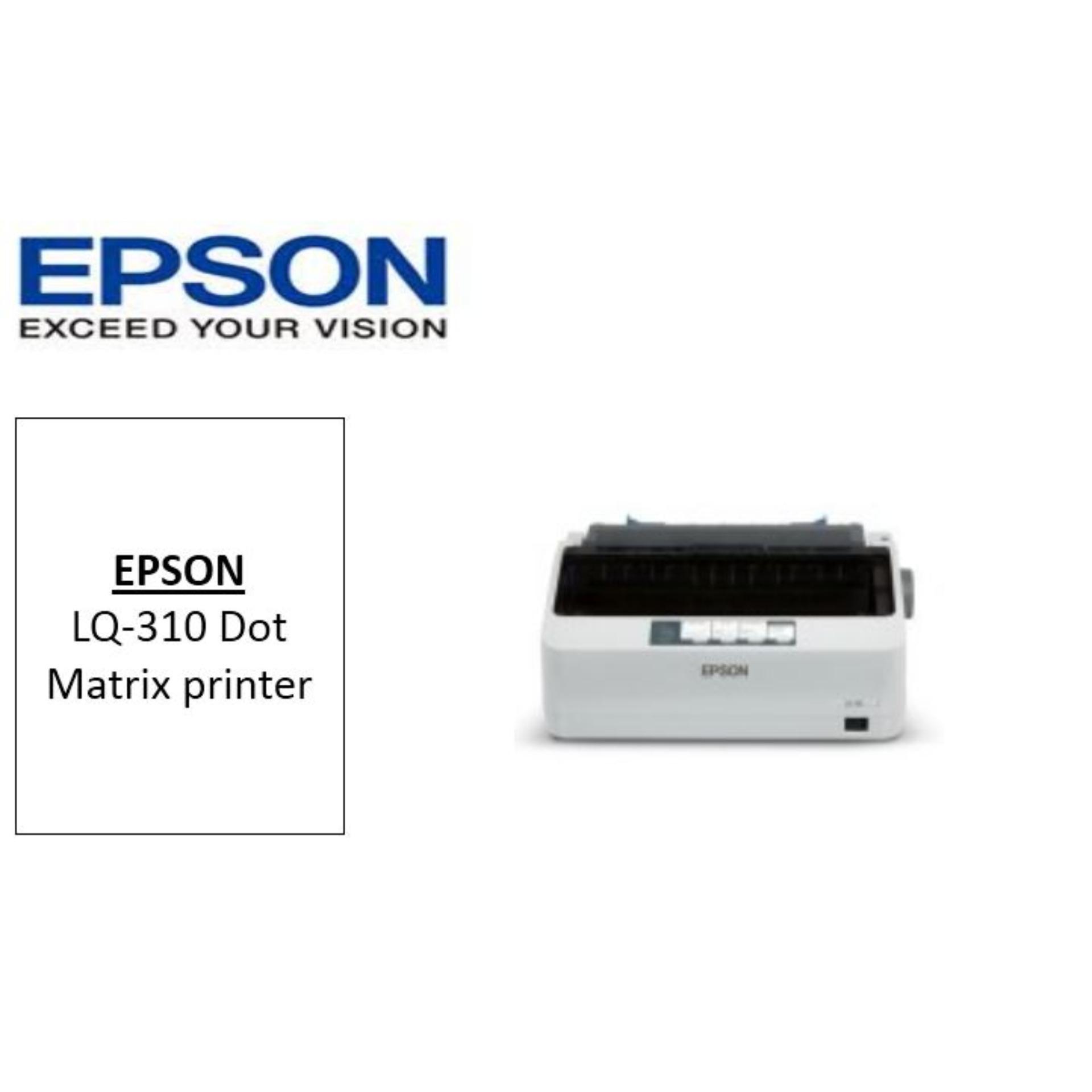 The New Price Of Singapore Warranty Epson Lx 310 Lx310 Dot Printer L310 L Lq Matrix Lq310