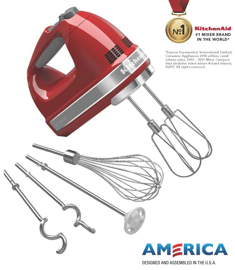 Sales Price Kitchenaid 9 Speed Hand Mixer