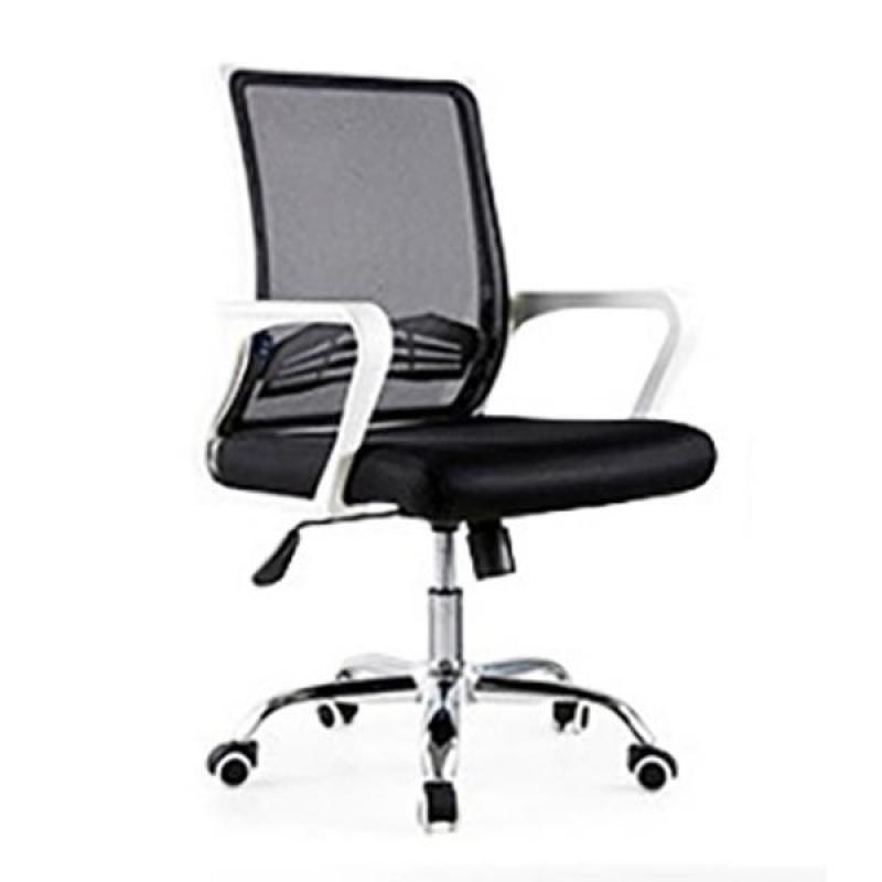 Bently Office Chair C20 (White Black),delivery-weekdays before 6pm Singapore