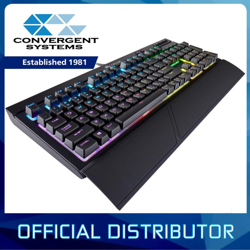 Corsair Gaming K68 RGB Mechanical Gaming Keyboard IP32 Spill Resistant - Cherry MX Blue RGB Singapore