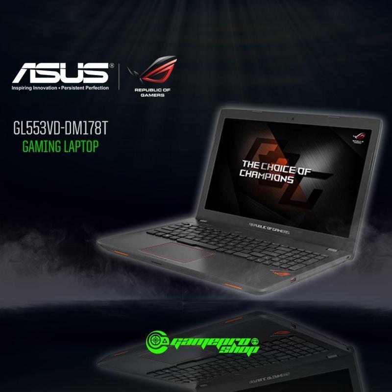ASUS ROG GL553VD - DM178T (I7-7700HQ / GTX1050 4GB / 15.6 FHD) (GAMEPROSG EXCLUSIVE)